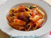 Pennoni fagioli pancetta