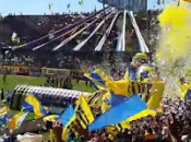(VIDEO)Rosario Central supporters atmosphere timelapse Estadio Gigante Arroyito