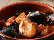 Zuppa Pesce Molluschi semplice gustosa