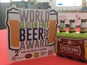 Peroni Senza Glutine podio World Gluten Free Beer Award