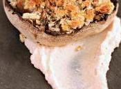 #VEGGYME Funghi portobello gratinati hummus lime