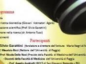 """Foggia """"Convention decennale"""" Agorà Scienze Biomediche prof. Silvio Garattini"""