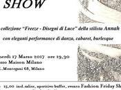 Fashion Friday Show: quando moda incontra burlesque