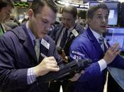 Trader Michael Zicchinolfi, foreground left, specialist Anthony Rinaldi, right, work floor York Stock Exchange, Monday, April 2014. Stocks mostly higher early trading traders hope another blockbuster merger th...