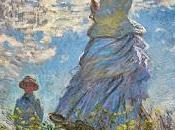 Schema punto croce: passeggiata (Claude Monet)