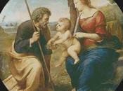 Schema punto croce Sacra Famiglia Raffaello Sanzio