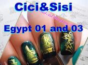 "Magnetic Manicure with Cici&Sisi ""Egypt Plates Review Tutorial"