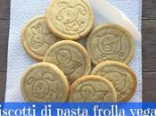 Biscotti pasta frolla vegan