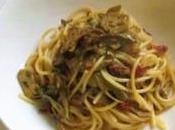 Spaghetti cuori carciofo