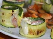 Zucchine grigliate farcite