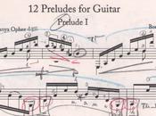 Boris Asaf'ev Preludes Guitar