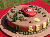 Torta Cars: Saetta McQueen