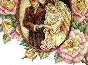 Sampler matrimonio- sposi rose