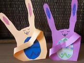 Lavoretti Pasqua: Conigli simpatici