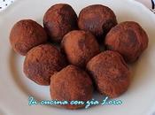 Tartufini ricotta cocco cioccolato