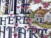 Schema Casa dolce casa punto croce