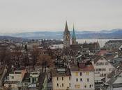 Zurigo vista dall'alto Lindenhof l'Urania Sternwarte