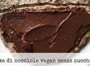 Crema nocciole vegan senza zucchero