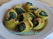 Lumaconi ripieni ricotta spinaci
