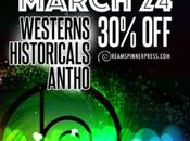 Marzo Sconto Western, Storici Antologie!