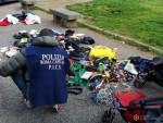 Polizia Locale interviene ancora Carlo Felice