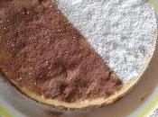 Torta biscotti sbriciolati bicolore