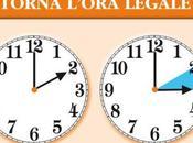 Domenica marzo 2017 torna l'ora legale