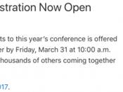 Registrazioni aperte acquisto biglietto WWDC 2017