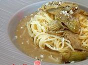 Spaghetti carciofi pecorino crema alici Oggi cucina...Samanta