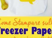 Come stampare freezer paper stencil perfetti