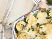 Zucchine forno mozzarella menta