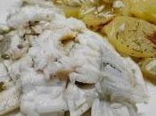 Rombo forno patate