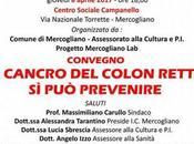 Centro Sociale Campanello Mercogliano prof. Gaetano Iaquinto parla della prevenzione cancro colon retto