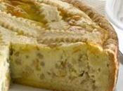 Pastiera napoletana ricotta, dolce tradizionale dalle origini molto antiche.