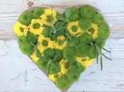 TABLE DECOR: tocco primavera centrotavola fiori erbe aromatiche