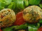 Polpette spinaci valeriana