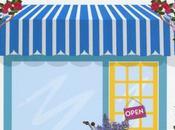 piccolo negozio fiori riva mare