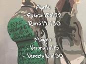 mostra Orme della Memoria #Italia contro sparizioni forzate #Messico #Desaparecidos