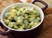 Fave Fresche Condite Fresh Broad Beans with Pecorino Cheese Dressing