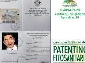 Patentini fitosanitari: l'ARSAC Palmi prima linea formazione imprenditori agricoli formati informati.