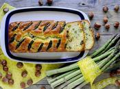 Cake Salato Asparagi, Feta Nocciole