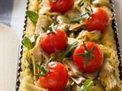 Crostata riso carciofi ricotta pomodorini Pachino: ragione insensatezza