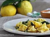 Tortelloni ricotta mascarpone asparagi limone