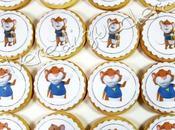 Biscotti Decorati Topo pasta frolla, zucchero cialda alimentare