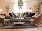 Stile vintage bella casa svedese
