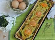 Brisée alle mandorle asparagi uova