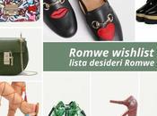 Romwe, borse scarpe vorrei guardaroba