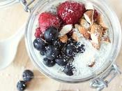 Chia Pudding Frutti Bosco, Mandorle Cocco