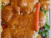 Coniglietto pasquale salato colombine