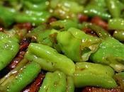 Peperoni friggittelli pancetta affumicata saltati padella